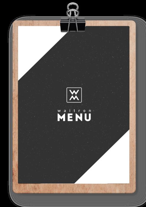 Waitron Menu